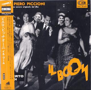 IL BOOM - SOUNDTRACK (CAM/DURIUM 1963) Jap mastering cardboard sleeve