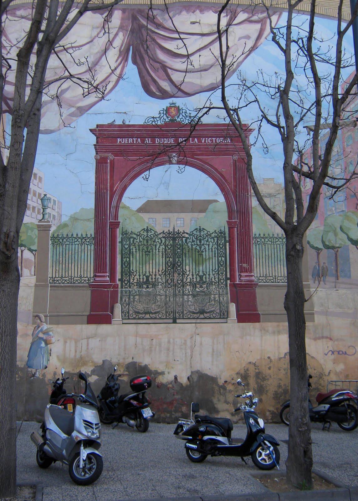Zaragoza milenaria desde la distancia la puerta al duque for Puerta la victoria