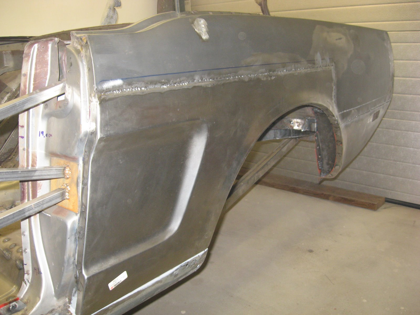 Restoration Of A 1965 Mustang January 2009