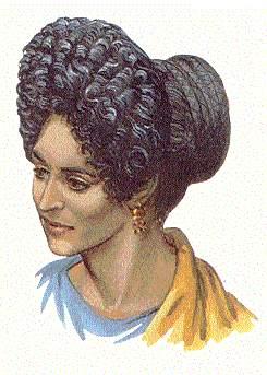 Peinados De Dama Antigua De 1810 Fotos Peinados9
