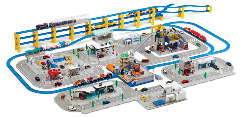 Toys R Us Trains : Random toy reviews tomy tomica line hits u s toys r us