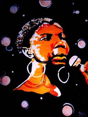 """Nina""-Acrylic Painting"