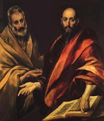 Santos Pedro y Pablo. Rogad por nosotros.