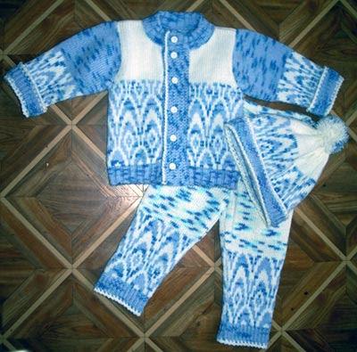 детская одежда, модная вязаная одежда,  вязание детям