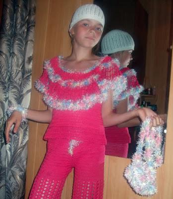 вязание детям,  вязание крючком одежды