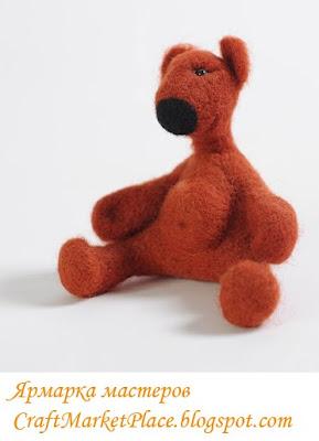 ойлочные игрушки,  изделия из войлка, валяние, бижутерия купить