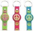 Peace Luggage Tags from Ganz
