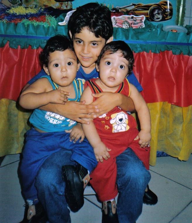 Meus filhos lindos