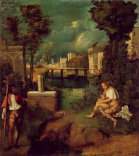 Giorgione (1477-1510) Foi discípulo de Giovanni Bellini e professor de Ticiano
