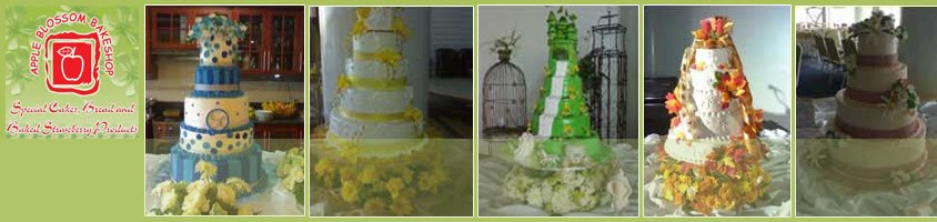 Apple Blossom Bakeshop - Wedding Cakes in Baguio