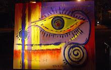Cuadro pintado en vivo para Tierra Firme