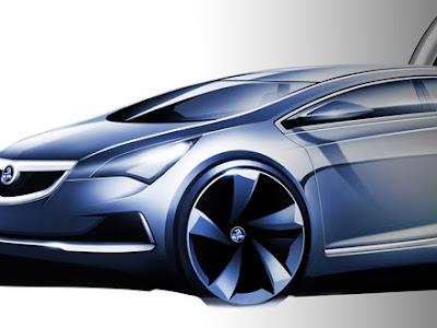 Blue Holden Volt Cars