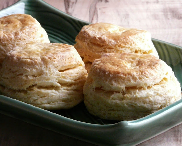 Flaky Southern Buttermilk Biscuits Recipe — Dishmaps