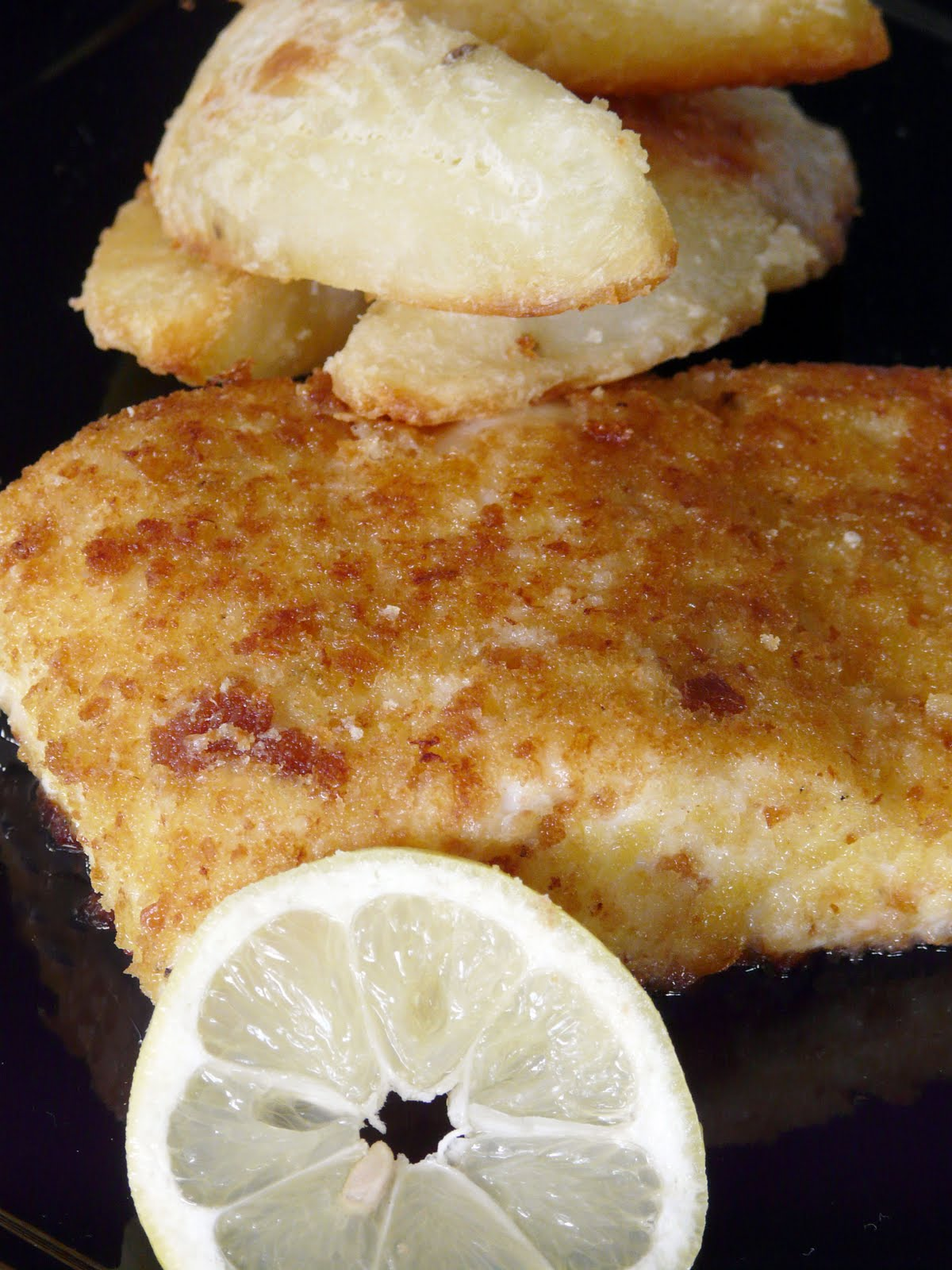 Thibeault's Table: Parmesan Crusted Halibut