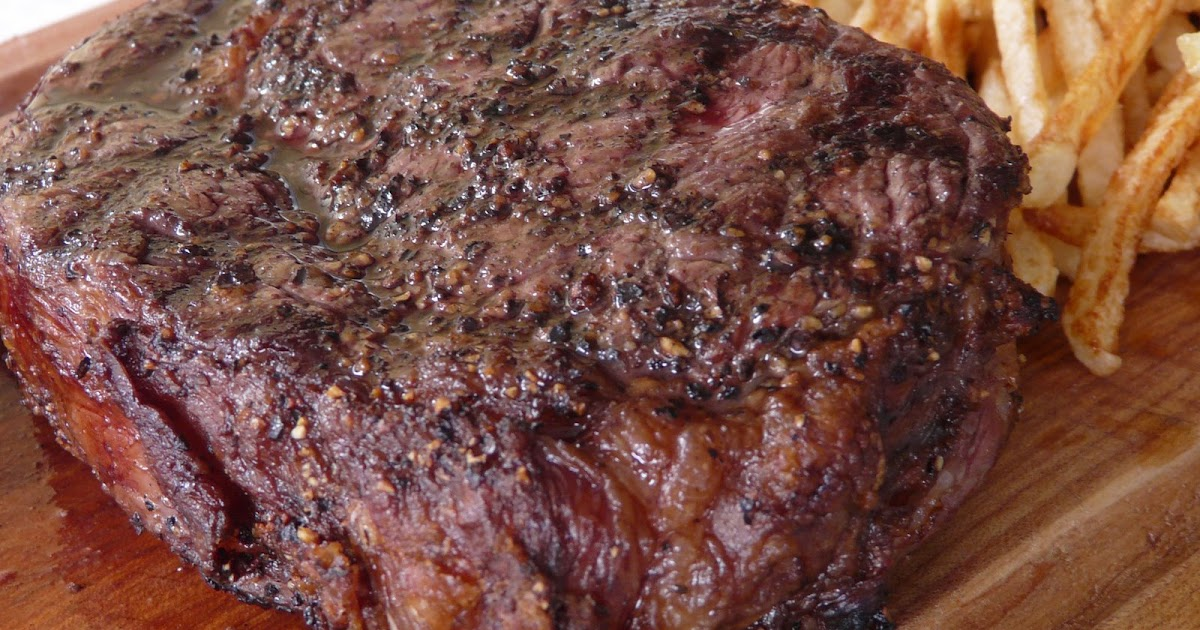 Thibeault's Table: Grilled Prime Rib with Shoestring Potatoes