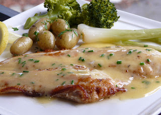 thibeault's table: petrale sole with a beurre blanc sauce