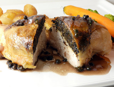 Chicken Stuffed With Savory Duxelles Recipes — Dishmaps