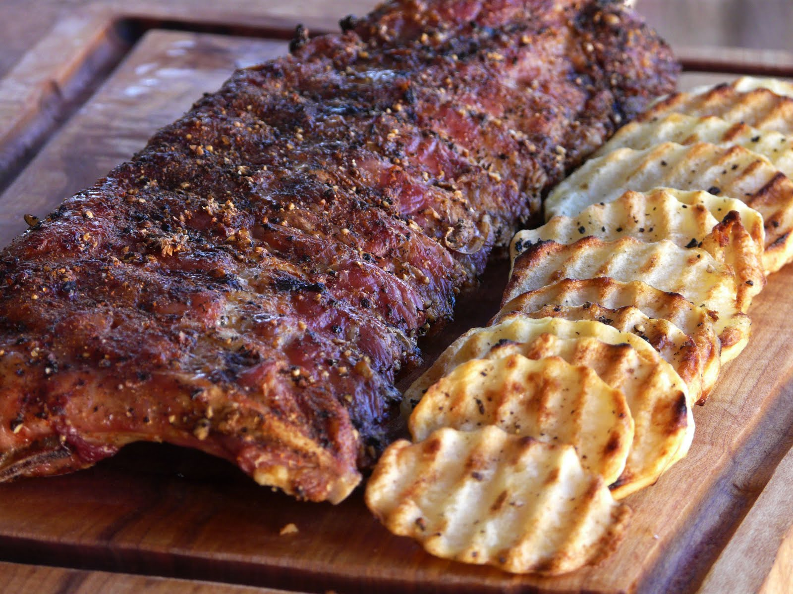 Thibeault's Table: Grilled Baby Back Ribs for Breakfast ...