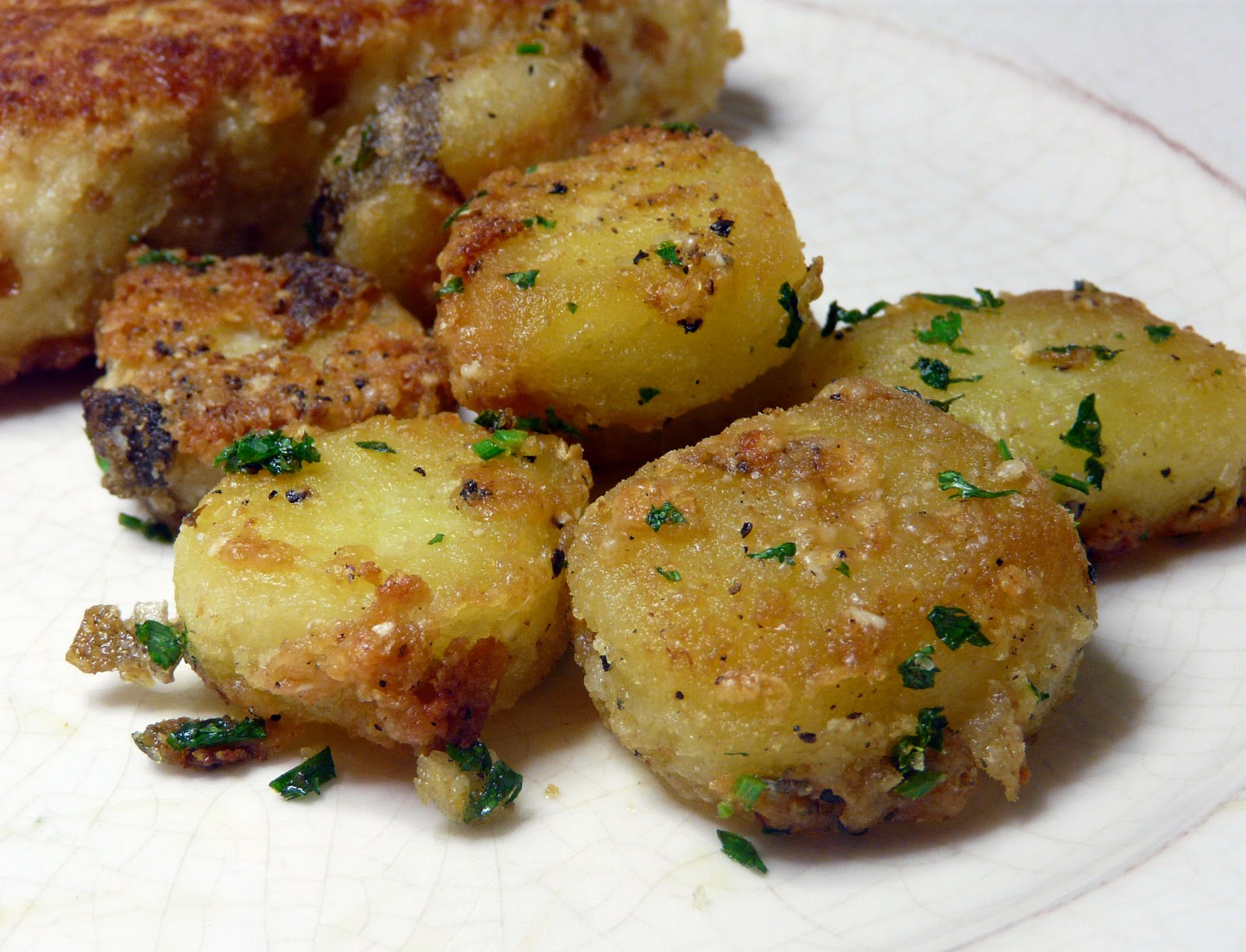 The garlic and the Parmesan really take roasted potatoes to the next ...