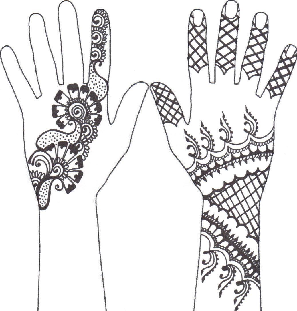 Henna Pattern Co Op July 2010