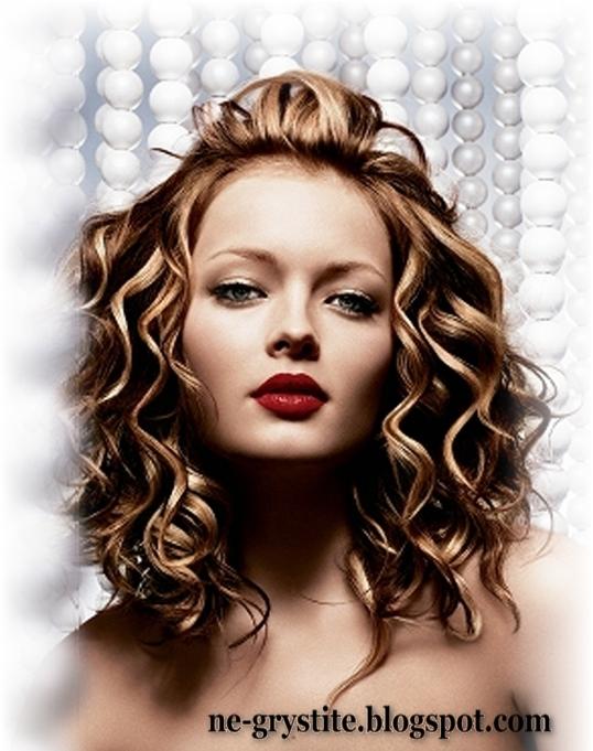 Модные причёски весны 2011