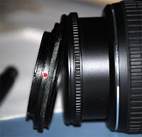 The ring with the lens