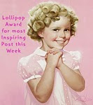 Lollipop Award