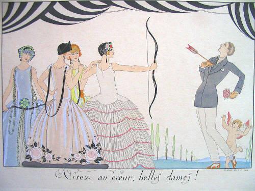 La Gazette du bon ton. Art Decó Illustrations-29517-