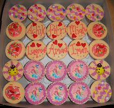 Cupcakes + edible image