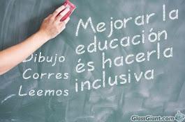Mejor educación para todos. Inclusión.