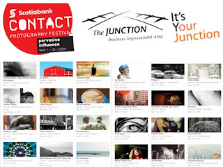 Screenshot Collage: CONTACT - Photography in the Junction: May 1 - 31, 2010 Credit: Junction BIA, scotiabankcontactphoto