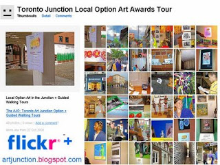 Photos: Toronto Junction Local Option Art Awards Tour 2008, by artjunction.blogspot.com