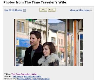 Screenshot: Photo: The Time Traveler's Wife