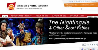Screenshot: The Nightingale and Other Short Fables, Canadian Opera Company, Igor Stravinsky, Robert Lepage