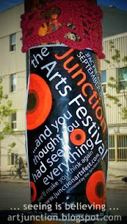 Junction Arts Festival: Seeing Is Believing, poster 2010, photo by artjunction.blogspot.com