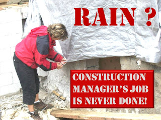 Construction Manager's Job Is Never Done! photo-collage by wobuilt.com