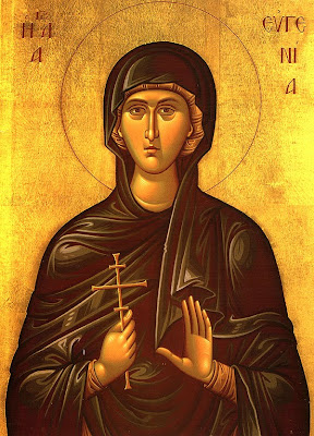 ST. EUGENIA The Righteous, Virgin Martyr
