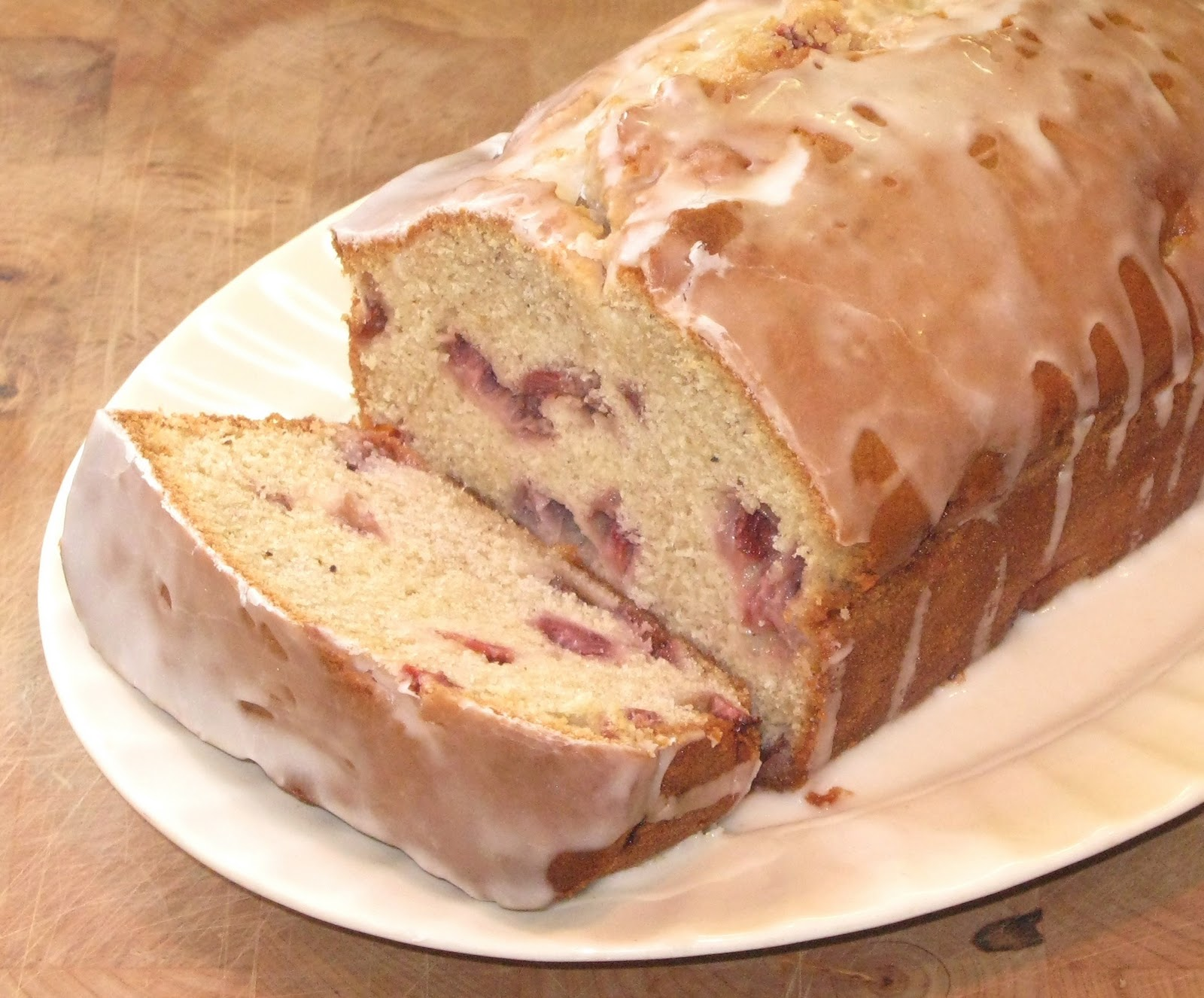 lick-a-plate: Strawberry Cardamom Bread