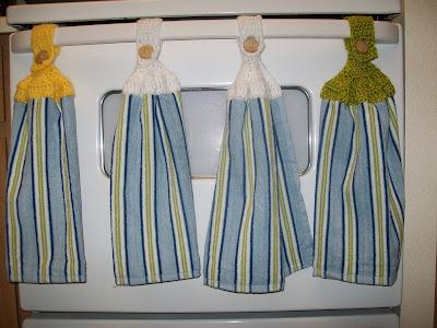 How to Crochet a Towel Top Holder | eHow.com