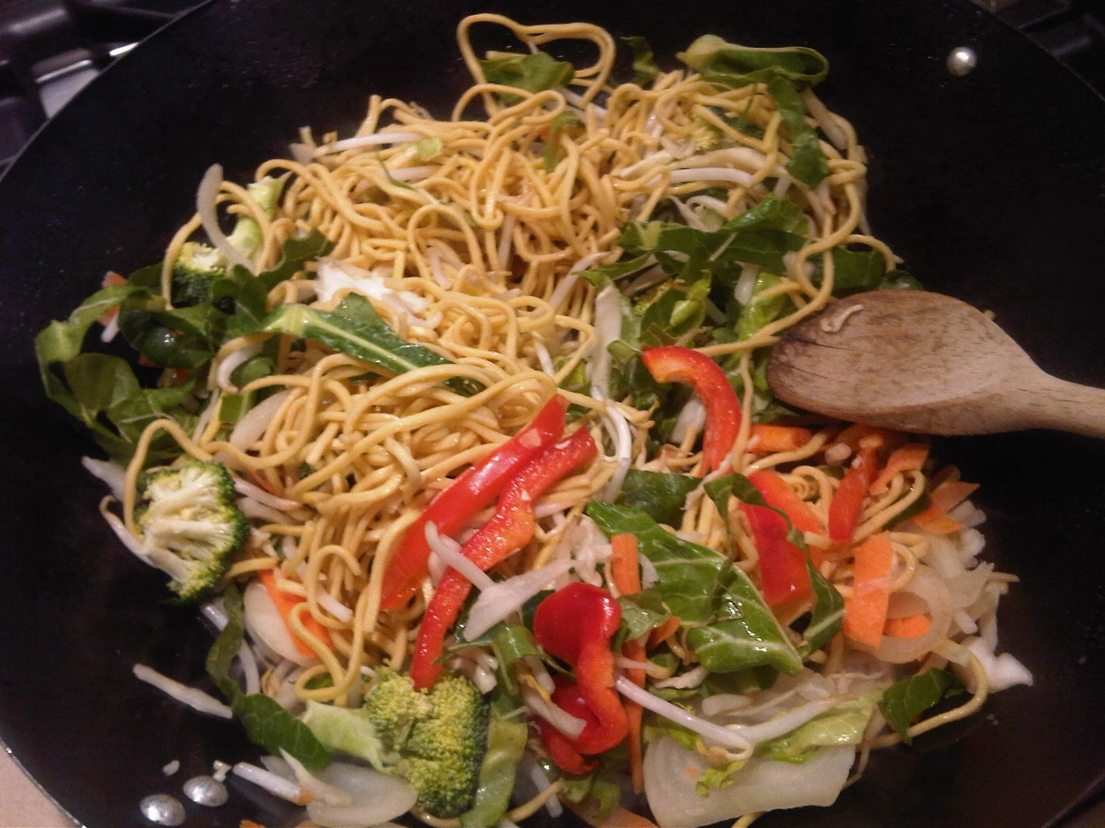 how to cook farkay steam fried noodles