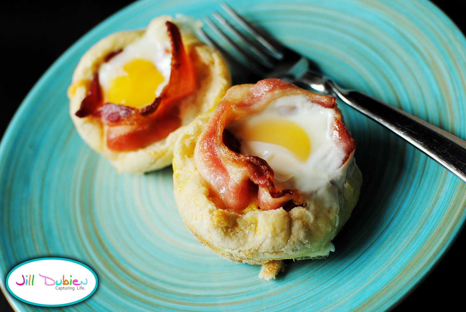 bacon and cheese egg mcmuffin cups | Meet the Dubiens