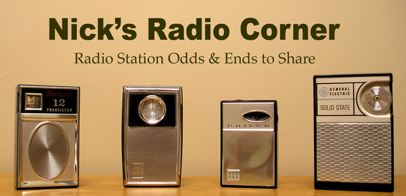 Nick&#39;s Radio Corner