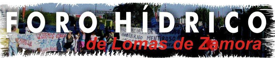 Foro Hídrico de Lomas de Zamora