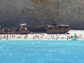 The Shipwreck in Navagio bay