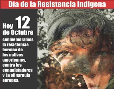 Semana Cultural: Día De La Resistencia Indígena, Encuentro Y ...