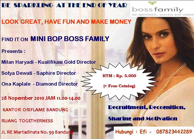 BOP Boss Family Bandung