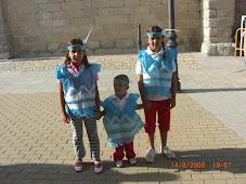 Nerea, Sara e Iván