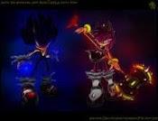 Dark Sonic y Dark Amy