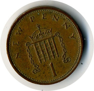 New Penny the Great Britain  Монета Великобритании Пенни Großbritannien Die Münze Grande-Bretagne La pièce Gran Bretaña La moneda