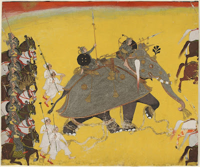war elephant from Kota